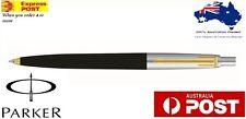 Parker Jotter Standard GT Ball Pen (Black) Brand new Now with Gold Trim