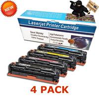 4 PK CRG131 131 BYCM SET Laser Toner For Canon ImageCLASS MF8280Cw MF624Cw 628Cw