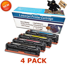 Set of 4 Color Toner for Canon 131 imageCLASS LBP7110Cw MF8280Cw MF624Cw MF628Cw
