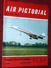 Air Pictorial 1969 June RAF Central Flying School,Rollason Beta,RAAF,Hanworth
