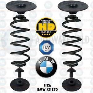 Pour BMW X5 E70 Arrière Air Suspension Sac À Ressort Kit Conversion Résistant