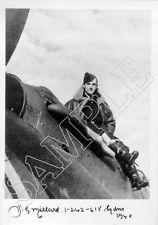 SPBB06 WWII WW2 RAF Battle of Britain pilot MILLARD AE hand signed photo