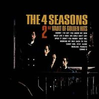 Frankie Valli & Four Seasons : 2nd Vault of Golden Hits CD