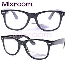 Occhiali Vista Wayfarer Ray Trasparente Neutra Riposanti Nerd Unisex Outfit Ban 2PowG