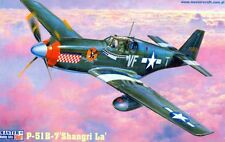 P 51 B-7 MUSTANG 'SHANGRI-LA' (4 x USAAF ACES MARKINGS)#C50 1/72 MASTERCRAFT