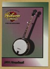 RB3 Standard banjo - Gibson guitar card series 1 # 48