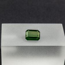 Turmalin 1,79 Carat facettierter Edelstein Verdelith Gemstone geschliffen