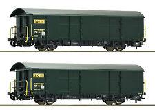 Roco 67184 Güterwagenset Postgüterwagen SBB PTT 2x H0