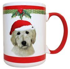 Golden Doodle Christmas Coffee Mug 15 oz E&S Pets Dog Puppy Tea Cup Holiday