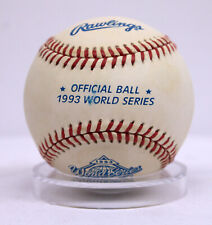 1993 World Series Official MLB Rawlings Baseball Ball