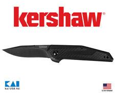 "Kershaw Knives 1160 Fraxion Folding Knife 2.75"" Black 8Cr13MoV Blade"