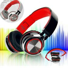 For iPhone For Samsung for PC Foldable Stereo Headphone Wired Headset Earphone