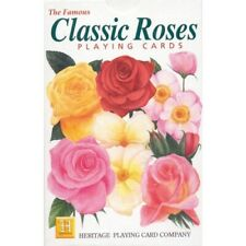 Heritage Playing Cards - Classic Roses - Unique Playing Cards Educational Fun