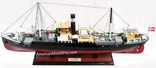 "MS MARTHA Cruise Ship Model 28"" Handmade Wooden Ship Model NEW"