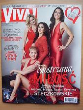 VIVA 2/2016 David Bowie & Iman,Celine Dion,Anja Rubik,Miranda Kerr,Lady Gaga