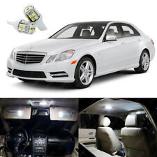 19 x Pure White LED Interior Light Package Kit For Mercedes E Class 2010 - 2013