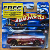 2006 Hotwheels Spy Force Lotus Esprit FTE 5/5 Vintage! Mint with Opened Card!