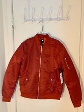 Classic Bomber Jacket MA-1 Flight, Red