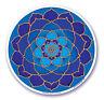 Mandala Arts Fenêtre Autocollant Double Face: Lumière Lunaire Lotus 11.7cm