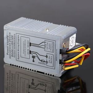 24V to 12V DC-DC Car Power Supply Inverter Converter Conversion Device 30A