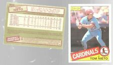1985 O Pee Chee Tom Nieto 294 Rookie St Louis Cardinals Baseball Card