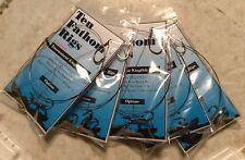 5 Double Stinger Kingfish Rigs * Live Bait * VMC Black Nickel treble hooks