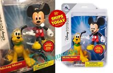 """Disney Store MICKEY MOUSE & PLUTO Toybox 6"""" Action Nightmare Christmas 2018"""