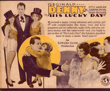 His Lucky Day Original  Movie Herald  from the 1939 Movie