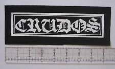 LOS CRUDOS Patch Anarcho Crust Punk Infest Charles Bronson Fleas and Lice Nausea