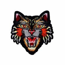 Tiger Head Designer Gucci Style Iron On Patch