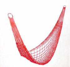 Hamacs de jardin et terrasse rouges en nylon