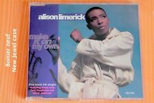 Alison Limerick – Make It On My Own - 5 pistes - Boitier neuf - CD promo RTL