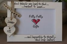 Personalised Photo Frame by Filly Folly Friend Leaving Gift