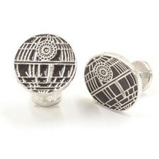 Quality Cufflinks Star Wars Death Star Cuff links silver Colour French Shirt