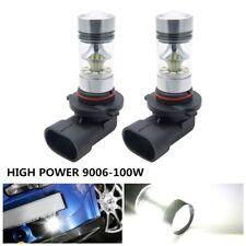 2 DRL LED Cree 9006 HB4 2323 100W Super Lámpara De Luz De Niebla Bombillas