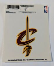 """Cleveland Cavaliers 3"""" x 4"""" Small Static Cling - Truck Car Window Decal NEW Cavs"""