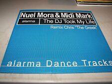 "NUEL MORA & MIDI MARK THE DJ TOOK MY LIFE 12"" Single NM Alarma AD2023 2002"