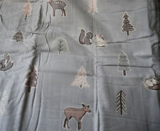 BNWT Reversible Double Duvet Bedding Set 100% Brushed Cotton Woodland Animals