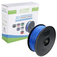 Acenix ® 1KG Azul 1.75mm PLA filamento de impresora 3D, precisión dimensional +/- 0.03mm