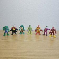 Imaginext Super Friends Figure Lot Robin Flash Joker Riddler Catman More DC Com