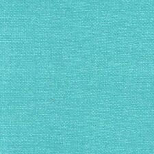 By 1/2 Yard  Michael Miller Cotton Fabric - Migration Bark Cloth in Turquoise