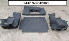 Rivestimenti bagagliaio ( set 4 pezzi )  Saab 9-3 dal 98 al 2004  [1589.16]