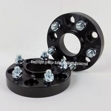 2 Pcs Black Wheel Spacers 5X114.3 5X4.5 | 67.1 CB | 20 MM For EVO Fushion Mazda