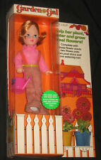 Garden Gal Doll Willow Strawberry Kenner General Mills 1973 Hong Kong - Nrfb Mip