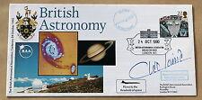 British astronomie concorde avion 1990 couverture signée par le chanteur cleo laine