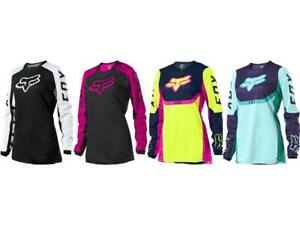 Fox Racing Women's 180 Djet / Voke Jersey Motocross Riding Shirt MX/ATV/BMX '21
