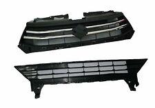Suzuki Celerio Front Upper and Lower Radiator Grille Panel Set Black ECs