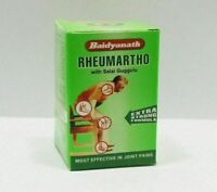 Baidyanath Rheumartho 50 Tablets For Arthritis,Joint Pains Free shipping