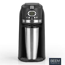 BEEM Grind & Brew 2 Go Single Coffee Machine Grinder Filter Coffee Maker Mini