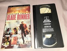 Blade Runner 1982 10th Anniversary Edition Vhs Harrison Ford Sci fi Cult classic